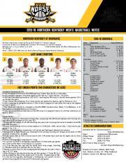 2015-16 northern kentucky men's basketball notes