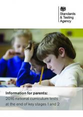 2016 national curriculum tests at the end of key stages 1 and 2