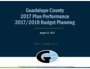 2018 Budget Planning