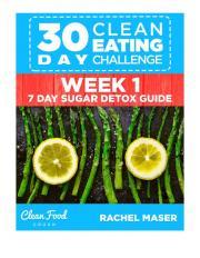 30 Day Clean Eating Challenge Week 1