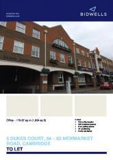 5 dukes court, 54 – 62 newmarket road, cambridge to let - Property Pilot