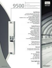 9500 Series - downloads.fingerprintdoorlocks.com