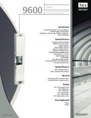 9600 Series - downloads.fingerprintdoorlocks.com