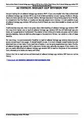 a2 edexcel biology cgp revision pdf