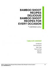 bamboo shoot recipes delicious bamboo shoot