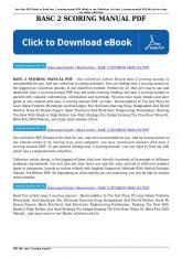 basc 2 scoring manual pdf