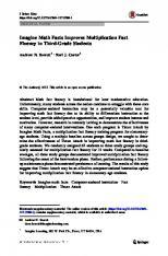 Berrett et al 2017 Journal of Behavioral Education