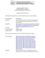 BILLING CODE 6717-01-P DEPARTMENT OF ENERGY