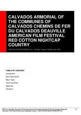 calvados armorial of the communes of calvados ... - PDFHALL.COM