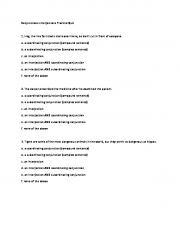 Conjunctions-Interjections Practice Quiz