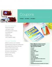 coupon sheet