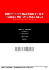 covert operations at the rebels motorcycle club ...  AWS