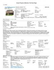 Cross Property Member Full One Page