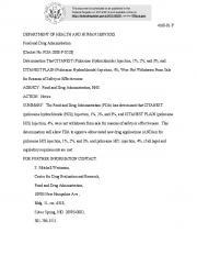Docket No. FDA-2008-P-0528
