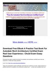 Download Free EBook A Practice Test Book For