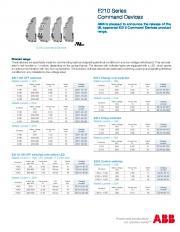 E210 Series Command Devices - ShopCross