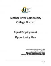 Feather River Community College District Equal