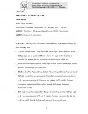 Federal Lands Recreation Enhancement Act, (Title