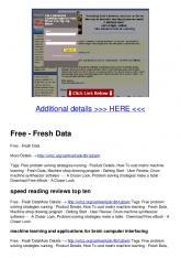 Free - Fresh Data