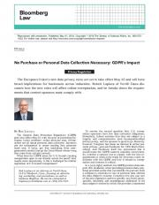 GDPR's Impact - JD Supra