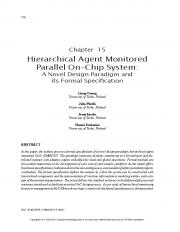 Hierarchical Agent Monitored Parallel On-Chip System  AWS
