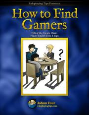 How to Find Gamers