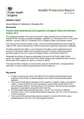 Infection report Polymicrobial bacteraemia and fungaemia in ... - Gov.uk