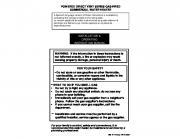installation & operating instruction manual