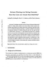 Kalman Filtering over Fading Channels: Zero-One Laws and Almost ...