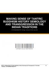 making sense of tantric buddhism history semiology ...  AWS