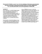 Marzorati M, Verhelst A, Luta G et al.: In vitro modulation of the