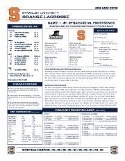 orange lacrosse
