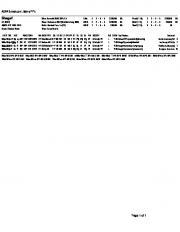 Page 1 #5044 Brisnet.com Lifetime PP's Shagaf BC 2013 $ AWD: 8.17