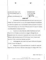 Page 1 RETURN DATE: JUNE 17, 2014 : SUPERIOR COURT