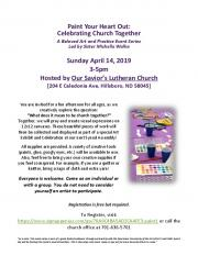 Paint Your Heart Out: Celebrating Church Together