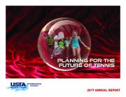 PLANNING for the future of tennis PLANNING for the