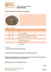 Polish Wild Mushroom Soup (Zupa Grzybowa)