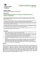 Polymicrobial bacteraemia and fungaemia in England, Wales ... - Gov.uk
