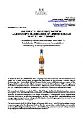 PRESS INFORMATION: THE GLENROTHES DOUBLE DOUBLE