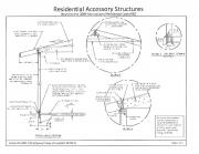 residential accessory structures less than 600 sq. ft. requirements