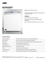 SCF632DT - Kitchenall