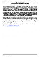 sociophysics by serge pdf