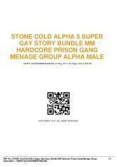 stone cold alpha 5 super gay story bundle mm hardcore prison gang