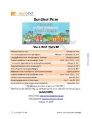 SunShot Prize - SLIDETRY.COM