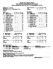 The Automated ScoreBook For Soccer UAB vs Marshall