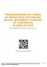 transgression as a mode of resistance rethinking ...  AWS