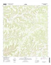 USGS 7.5-minute image map for Divide Well Draw, Texas
