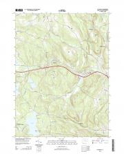 USGS 7.5-minute image map for Fitchville, Connecticut