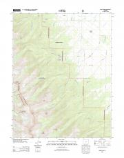 USGS 7.5-minute image map for Horn Peak ... - The National Map