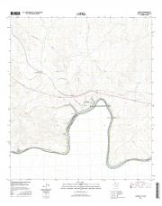 USGS 7.5-minute image map for Langtry, Texas - The National Map